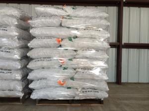Pallet of 50 lb. bags