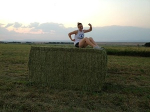 Big Bale in the Field